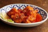 8stanley定番 インドネシア風 鶏の辛カラ揚げ