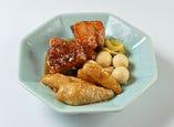 本格黒酢をつかったやわらか角煮と山芋の酢豚