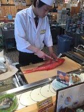 店内調理で鮮度バツグン