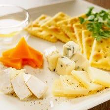 おまかせチーズの盛り合わせ