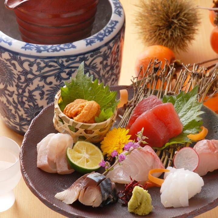 ▼季節の厳選食材を惜しみなく使用