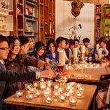 ★少人数の飲み会から120名の貸切まで幅広いシーンで利用可能。