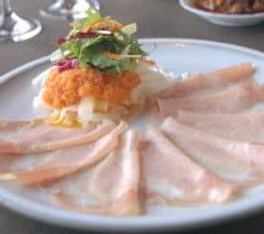 【当店一番人気】ロースハムと彩り野菜のオードブル 自家製ドレッシング和え