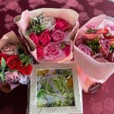 結婚記念日にミニブーケプレゼント★
