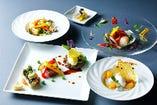プリフィックススタイルのコース料理はレストランゾーンで!