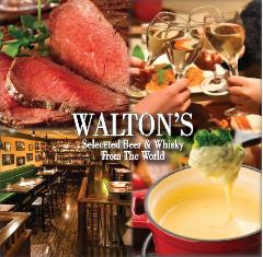 ローストビーフ&チーズフォンデュ食べ放題 ウォルトンズ 神田店