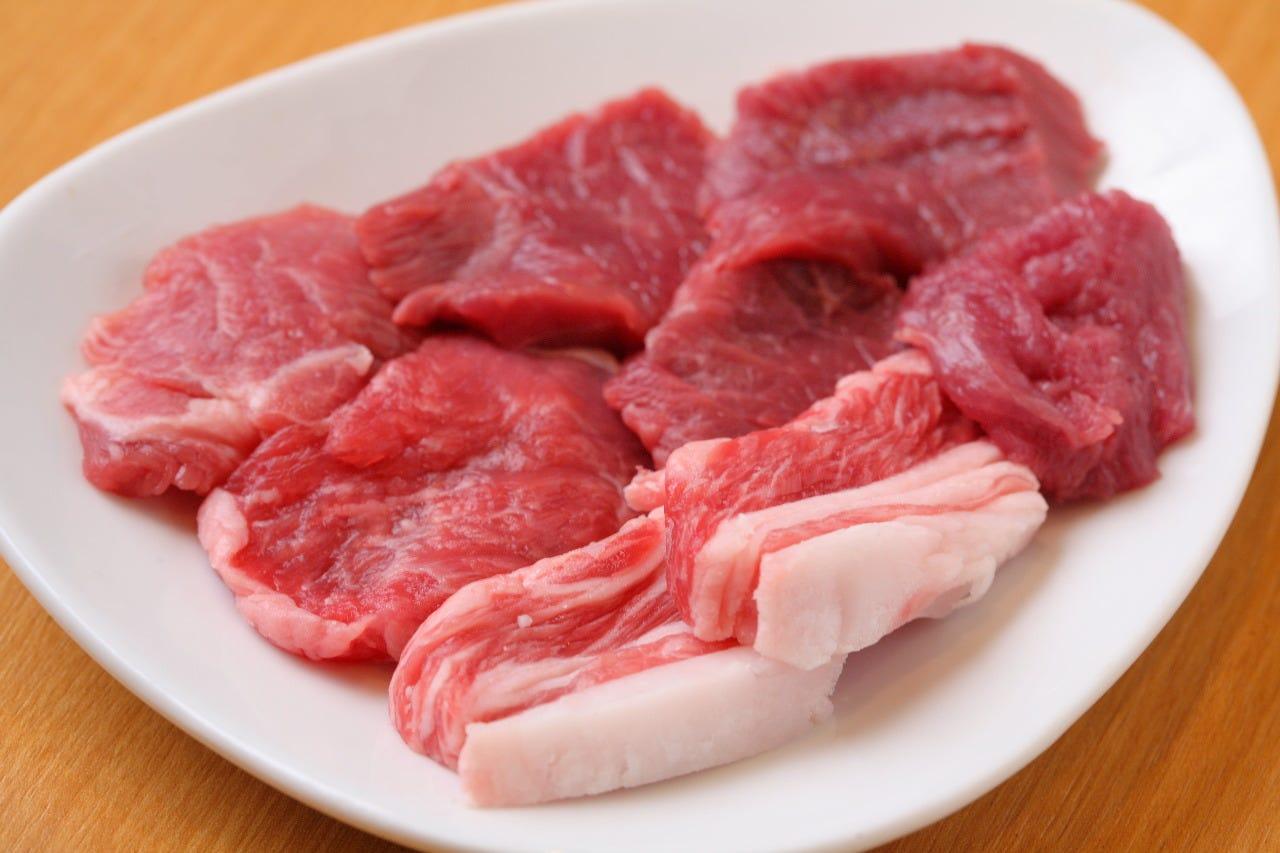 北海道産の羊肉を使用
