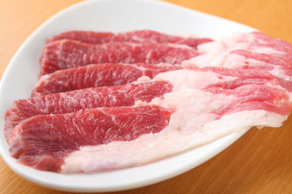 羊のロース肉