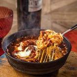 モッツァレラと赤ワインで煮込んだビーフシチュードリア
