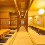 【2階】最大70名様での大ご宴会OK!!各種ご宴会にご利用下さい!!