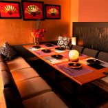 和モダンな京和風個室 2名様から50名様まで個室対応致します。