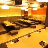 仙台での大人数での御宴会に。最大40名様迄対応可能です。