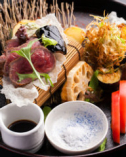 ほかでは味わえない料理を 是非お客様の五感でお試し下さい!