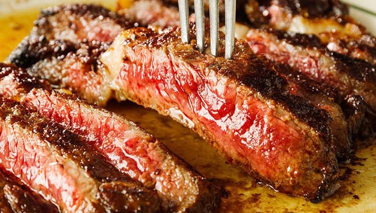 牛リブロース焙煎グリルステーキ