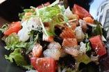 海鮮うぶサラダ ~さっぱり和風ドレッシング~