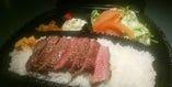 ステーキ弁当(テイクアウト、出前)