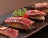 牛フィレステーキ 寿司スタイル