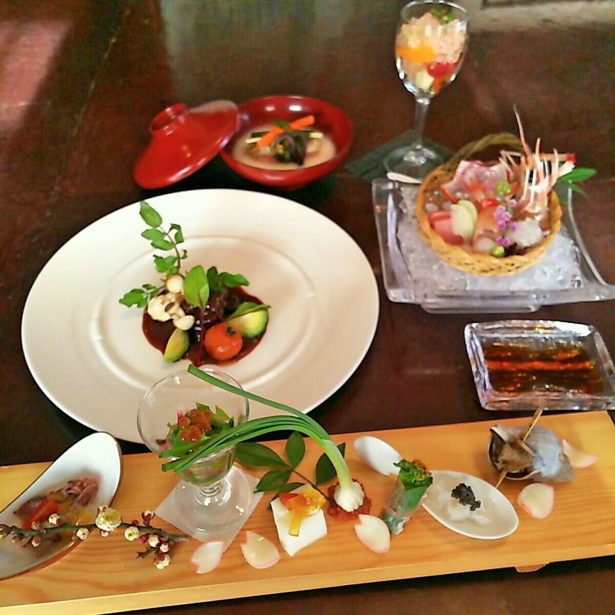 ◆地元食材などを使ったコース◆