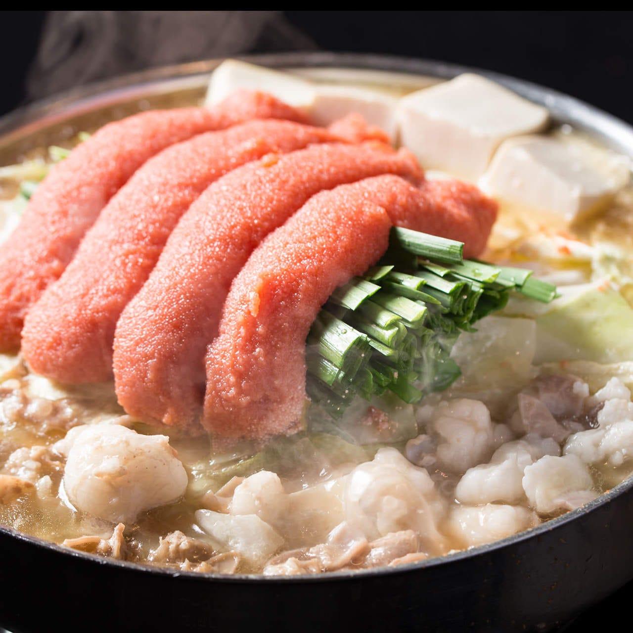 博多名物 厳選牛極トロ もつ鍋と水炊き