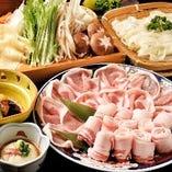 『金華豚しゃぶしゃぶ料理コース』