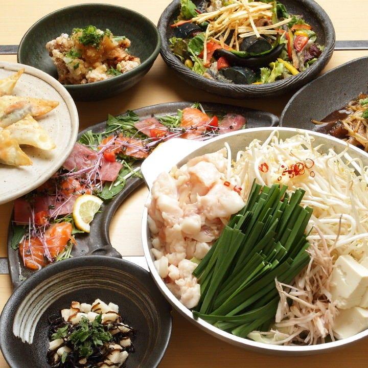 選べるお鍋と名物肉料理でワイワイ♪