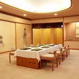4階芳月 絨毯敷きのゆったりした個室です。