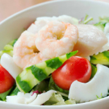 きまぐれ海鮮サラダ