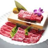 サイコロ風ステーキ付和牛セット