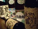 タイガー&ドラゴン(紫芋)、日南娘、薩摩茶屋、等