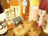 美味しいお酒を選ぶと飲み放題が100種類超えてしまいました。
