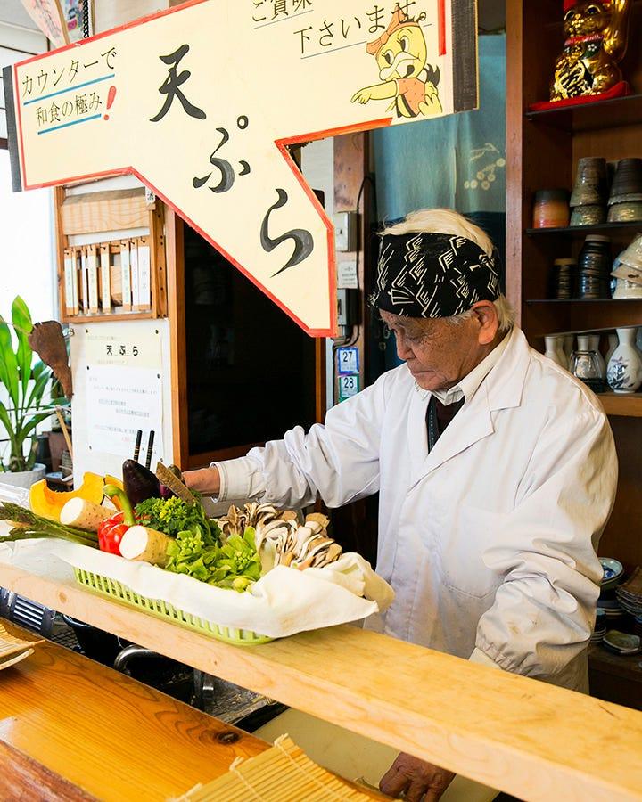 季節のお料理コース  4,400円 千両自慢の季節の天ぷら付