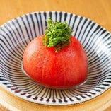 ■丸ごとトマト出汁浸し