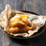 白身魚のフリット 自家製タルタルソース
