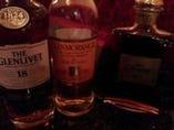 =お酒にはもちろんこだわり◎= 種類は盛りだくさん、キープ有