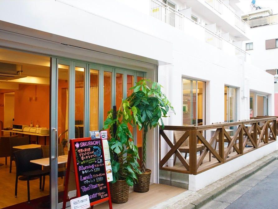 SAKURA CAFE Sakurakafuenippori