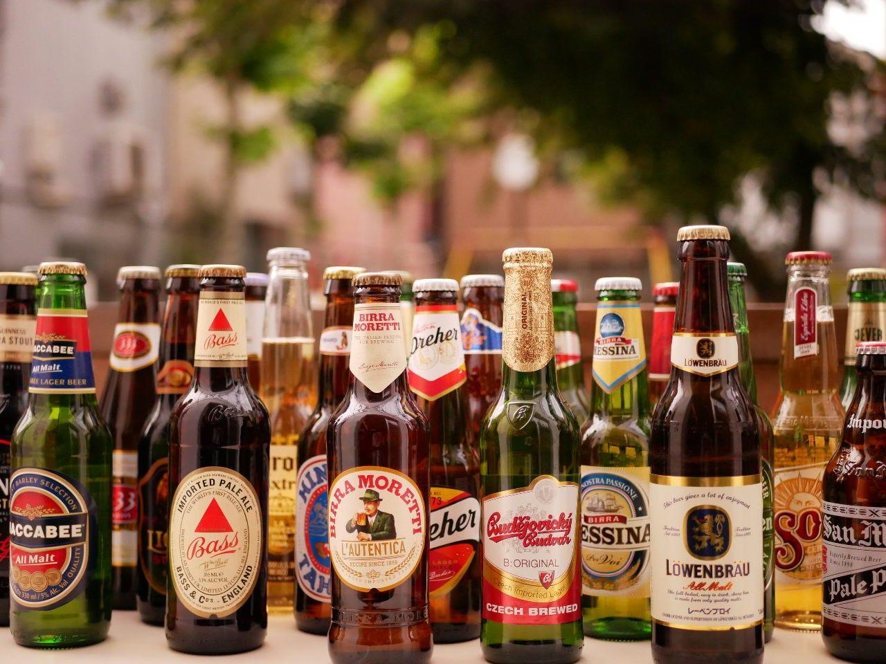 【谷根千の開放テラスで飲み放題!】90分間2,200円 世界のビール30種類とワイン、カクテル