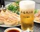 今宵は熱々の餃子と冷たいビールでいかがでしょうか