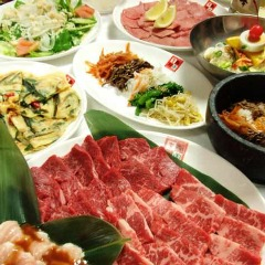 個室焼肉 韓国料理 李朝園 十三店