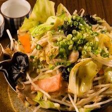 ボリューム満点★900gの野菜炒め