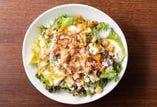 オーガニック野菜のシーザーサラダ~オーガニックキャロットのドレッシング&スーパーBIOフードきく芋入~