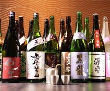 蔵直から珍しい地酒まで30種以上!