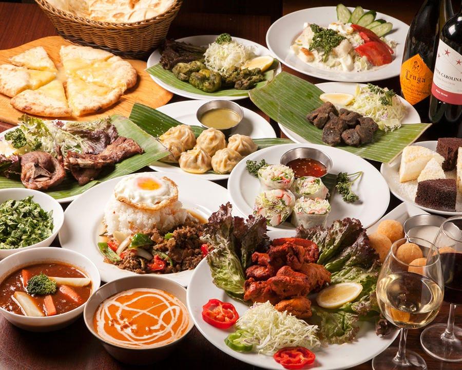 ◆【2時間30分飲み放題付】肉好きのための!スペシャル肉宴会コース〈全13品〉宴会・飲み会・パーティ