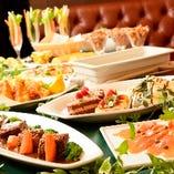 ご宴会に人気の2時間飲み放題付プランをお手軽価格でご提供!!
