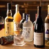 富山産の日本酒、ワイン、ウィスキーなど豊富に取り揃えています