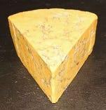 シュロップシャーブルー(イギリス産、牛乳製、青カビタイプ)