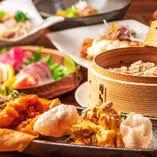 旬の和食と本格中華、好みに合わせて楽しめるのが当店の魅力です
