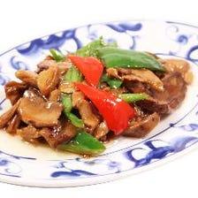 四川名物ポルティーニ茸の炒め