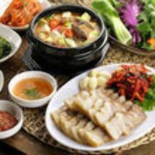 本場韓国料理が楽しめます!!