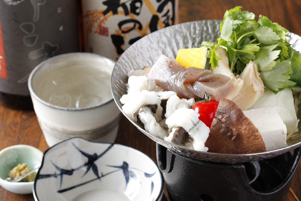 小鍋付き季節会席料理 お客様のご希望によりお付けいたします。