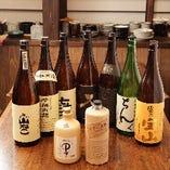 本格焼酎、地酒など各種飲み物ございます。